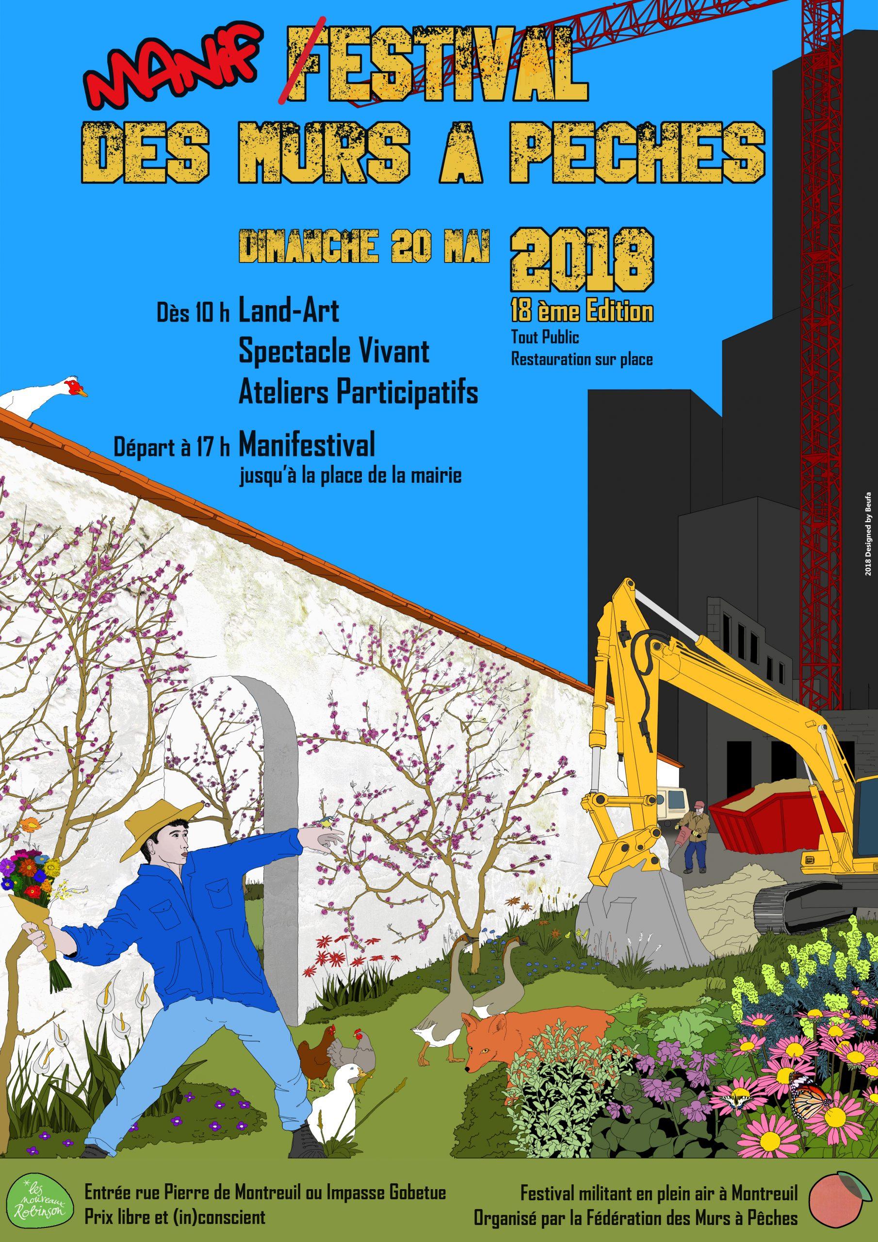 Festival Des Murs À Pêches 20 Mai. | Murs À Pêches tout Piscine Des Murs À Pêche Montreuil