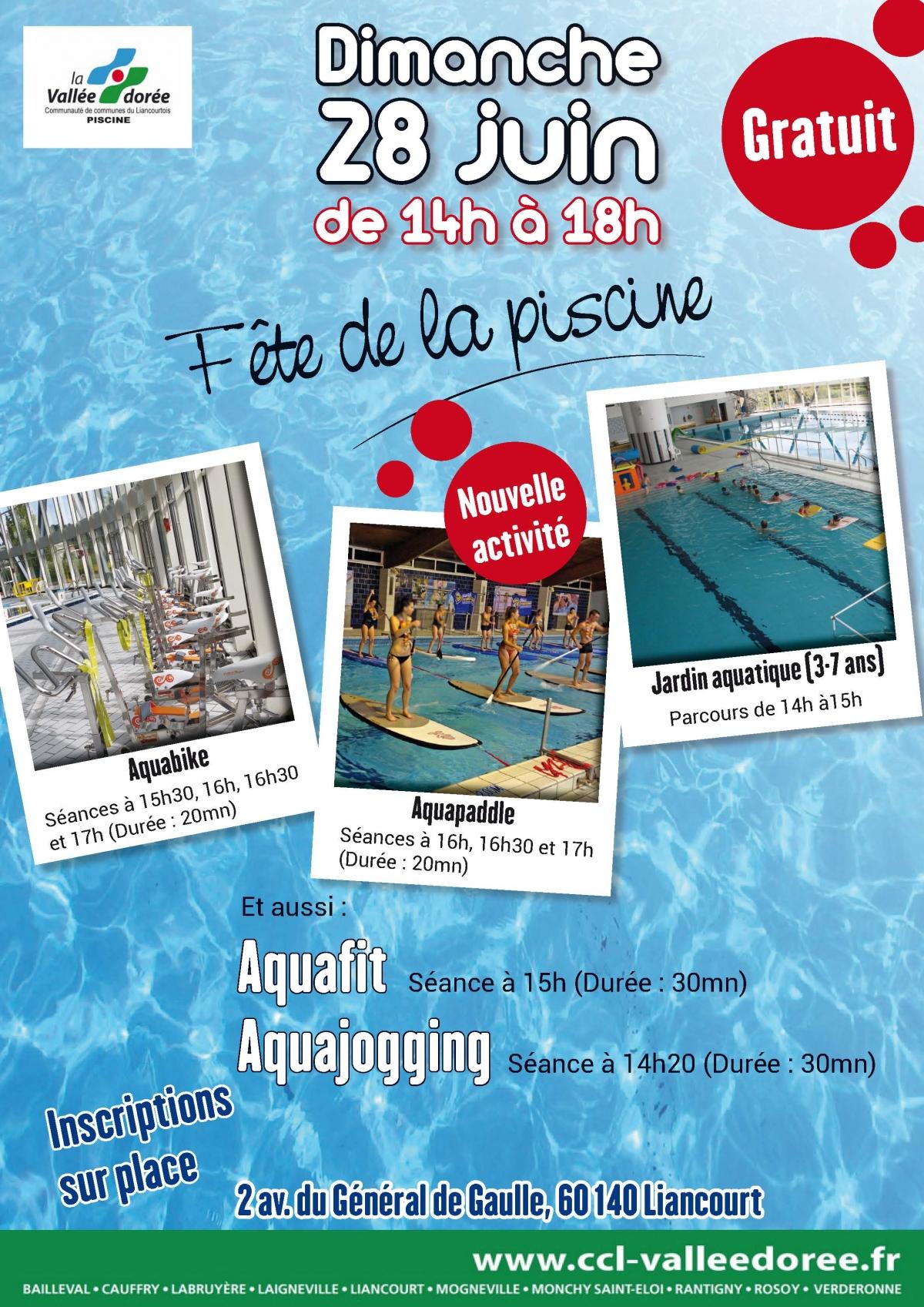 Fête De La Piscine À Liancourt - L'agenda Sorties Evasion ... dedans Piscine Liancourt