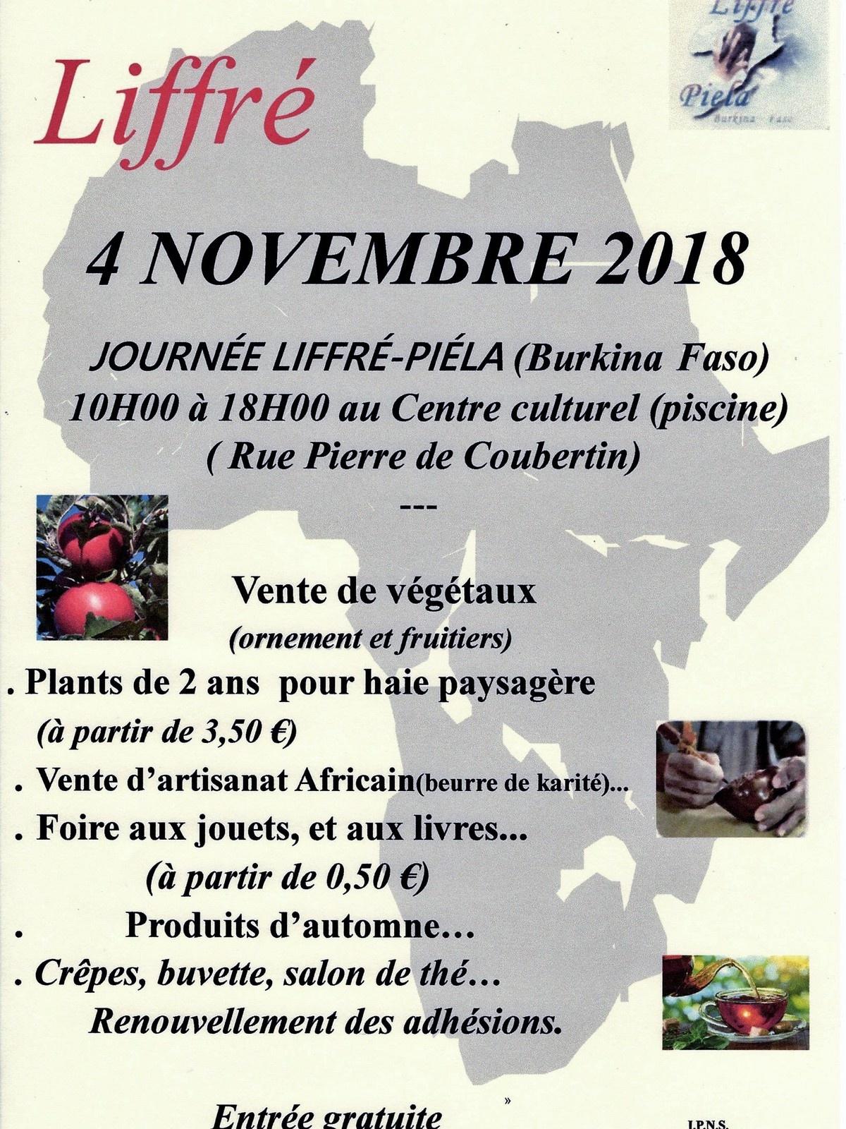 Fete : Dimanche 4 Novembre 2018 - Liffrepiela.overblog destiné Piscine Liffré