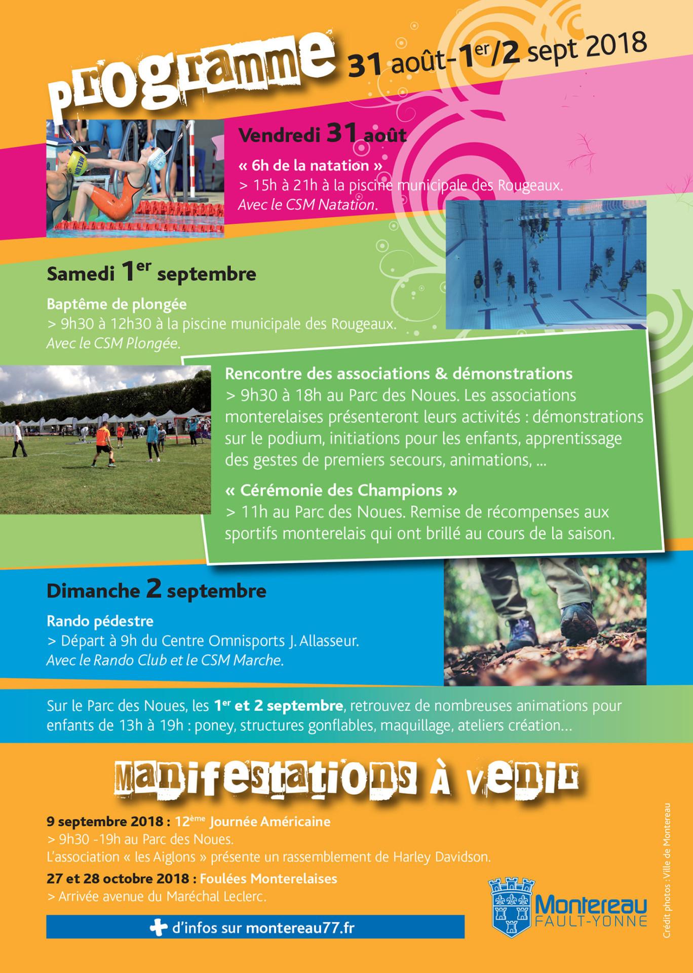 Fête Du Sport Et Des Associations - Montereau-Fault-Yonne à Leclerc Piscine Gonflable