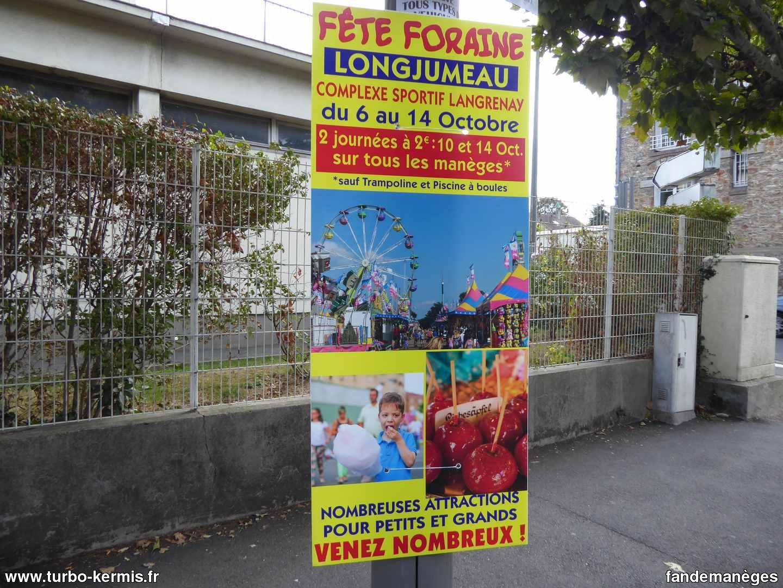 Fête Foraine De Longjumeau (91) 2018 - Turbo Kermis destiné Piscine Longjumeau
