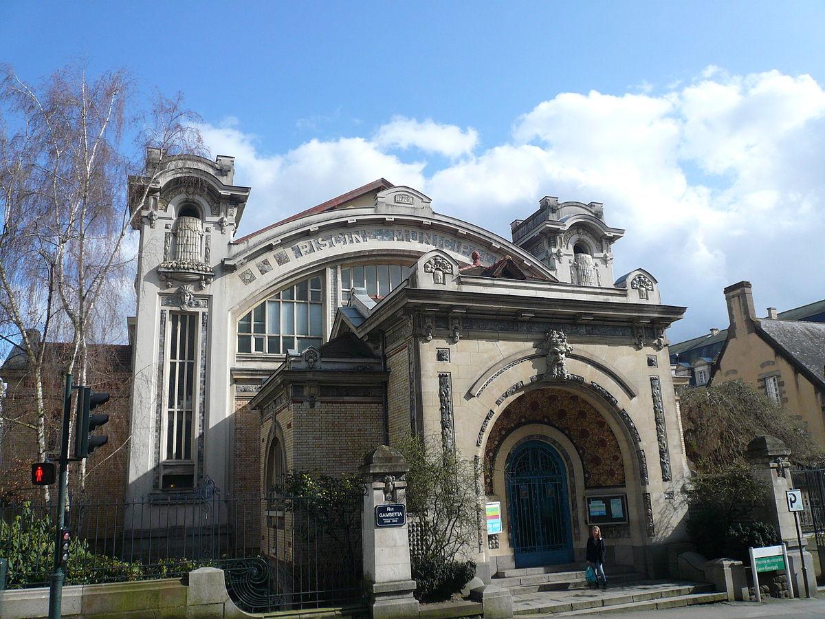 Fichier:piscine Saint-Georges Rennes.jpg — Wikipédia intérieur Piscine De Rennes