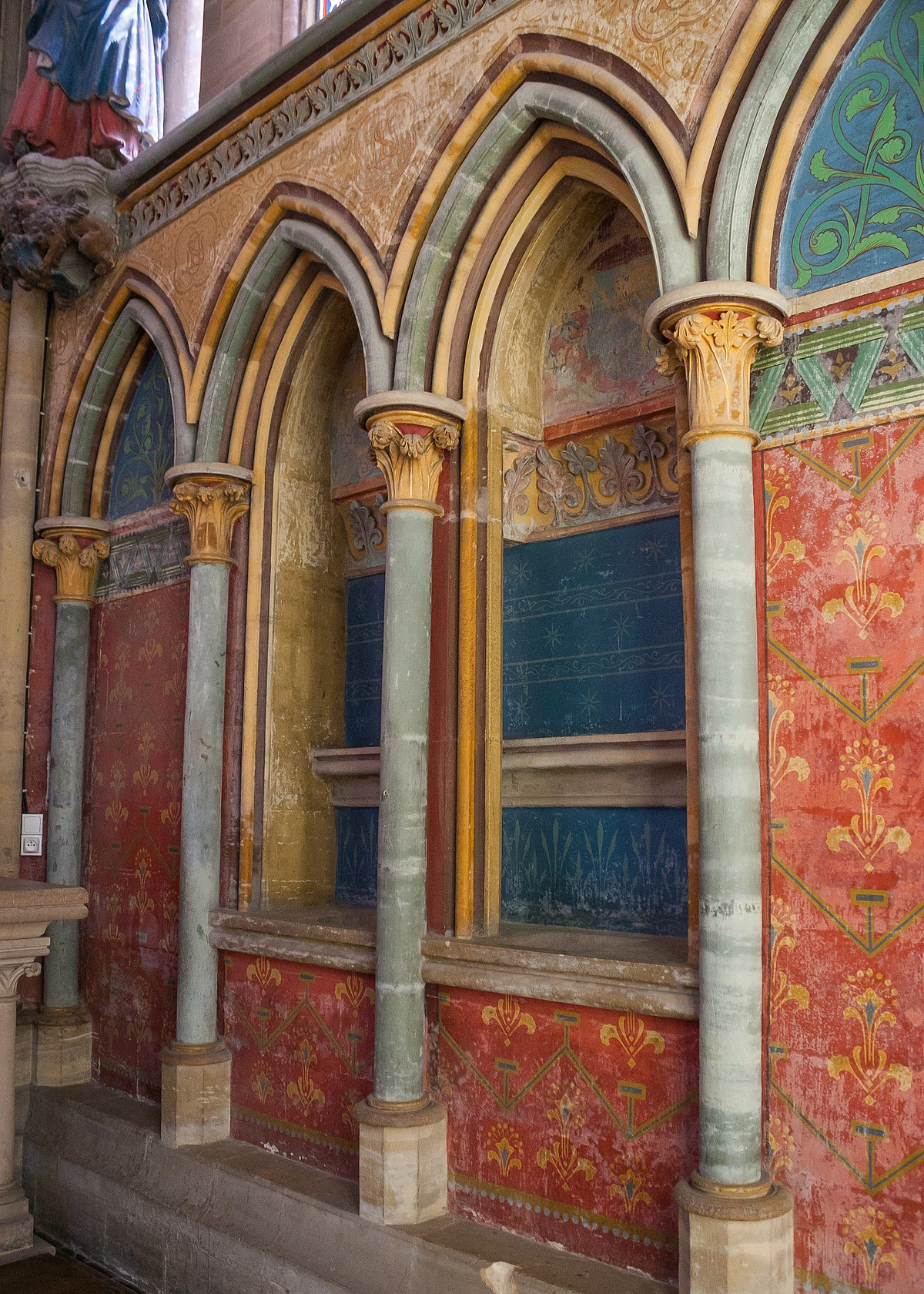 File:bayeux Cathédrale Notre-Dame Chapelle Saint-André Et ... à Piscine Bayeux