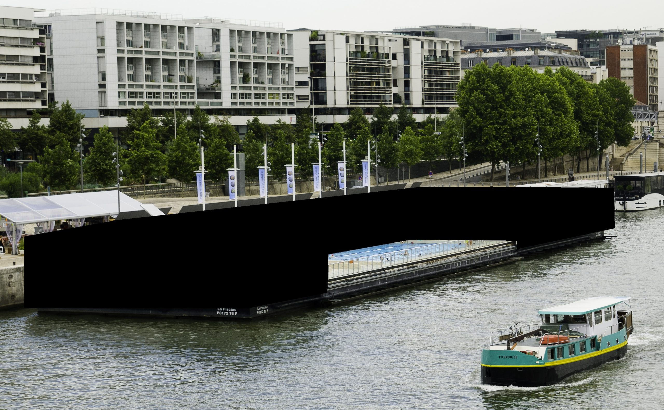 File:piscine Joséphine Baker Ouverte Paris.jpg - Wikimedia ... concernant Piscine 13Eme