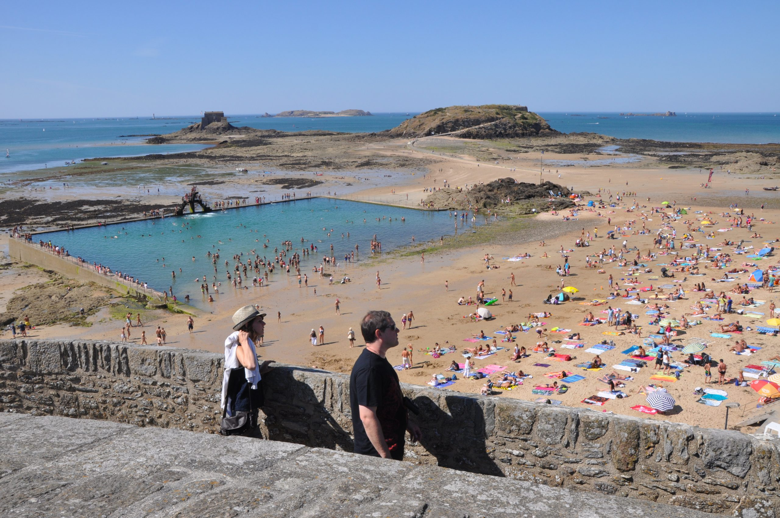 File:saint-Malo (France), Swimming Pool On Beach.jpg ... tout Piscine St Malo