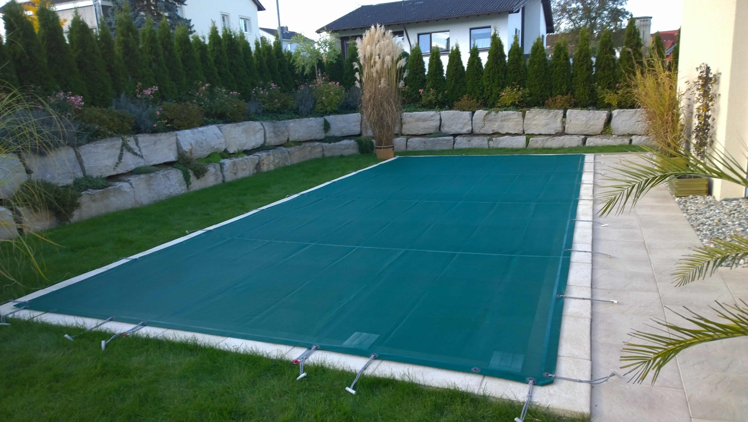 Filet De Protection De Piscine - Bac Pool Systems pour Filet Protection Piscine