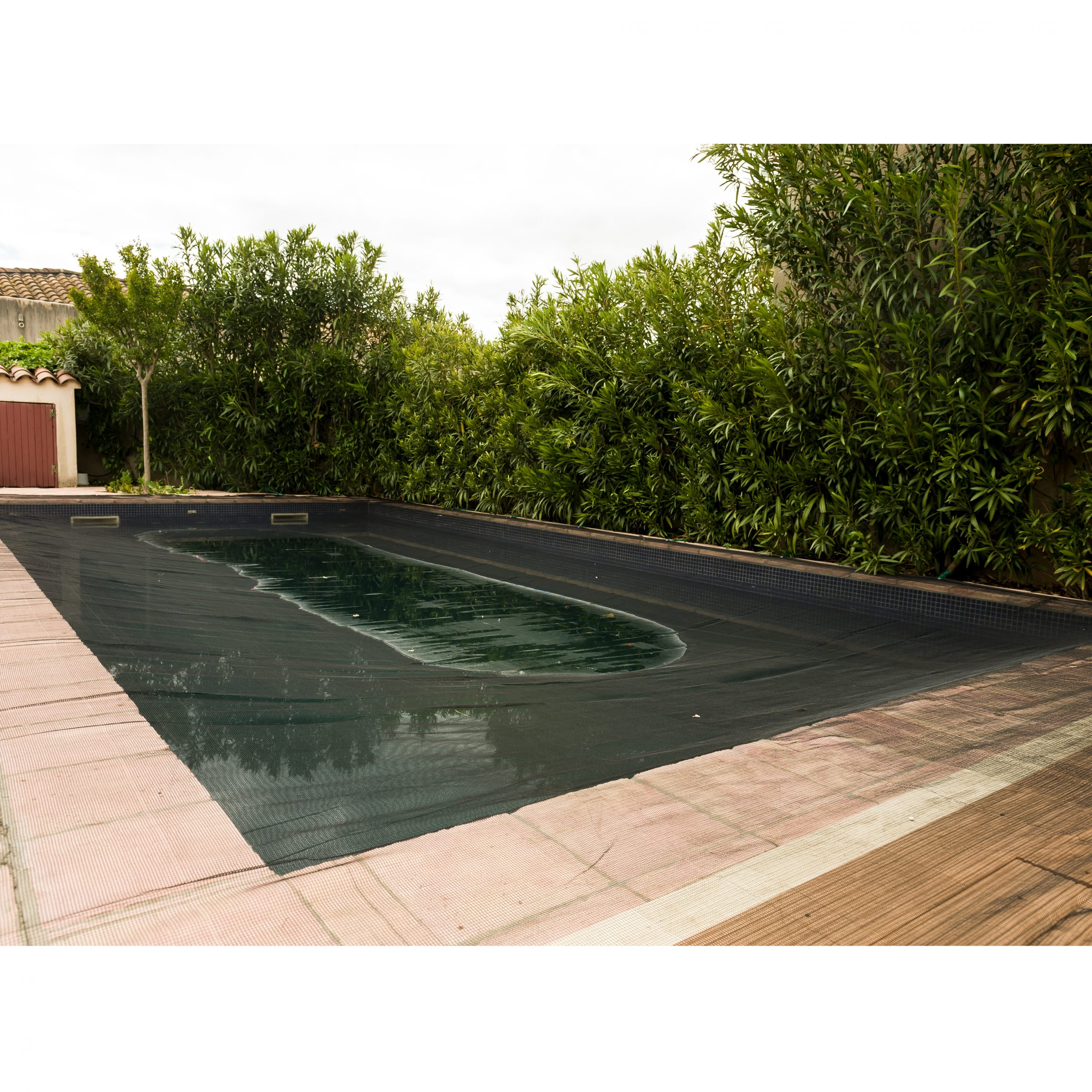 Filet De Protection Piscine 100G/m² Werkapro (4X7M) concernant Filet Protection Piscine