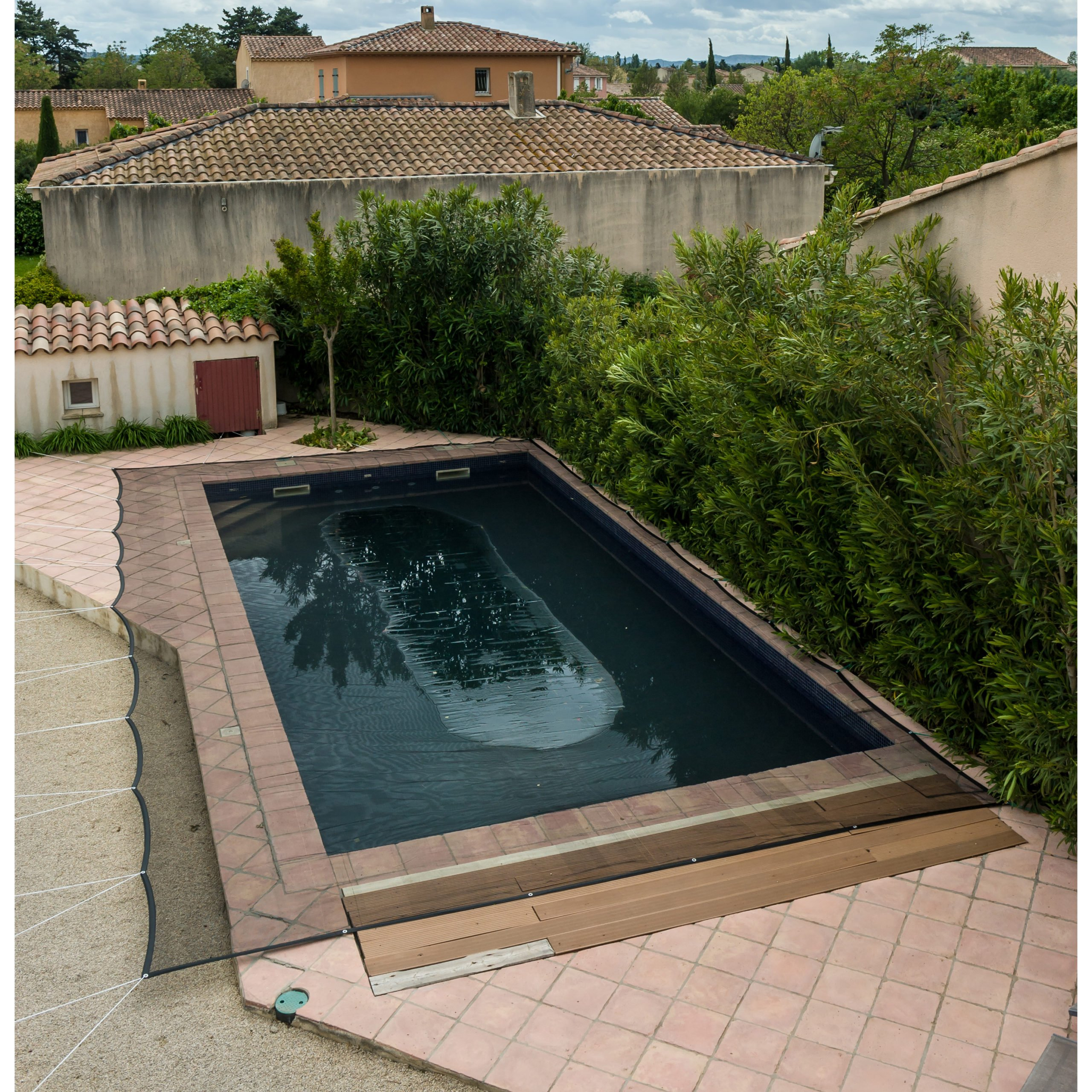 Filet De Protection Piscine 100G/m² Werkapro (5X9M) serapportantà Filet Protection Piscine