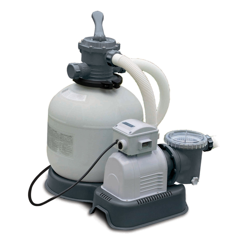 Filtre À Sable Intex 8M3/h dedans Pompe Pour Piscine Intex