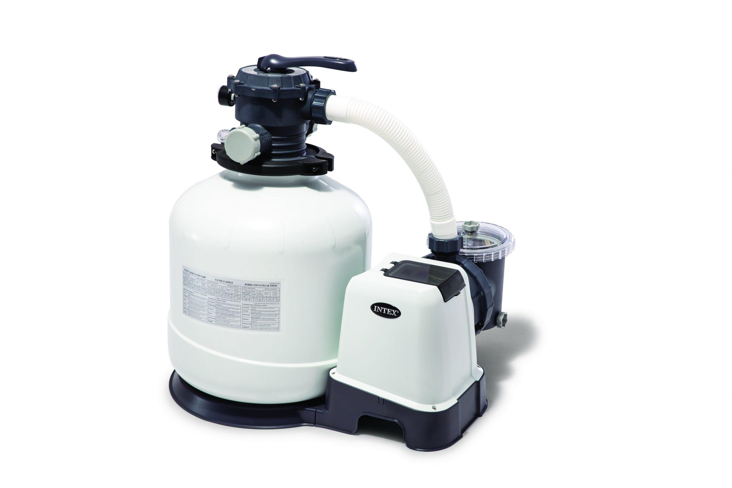 Filtre À Sable Pour Piscine Intex 10 M³/h intérieur Pompe Piscine Leroy Merlin