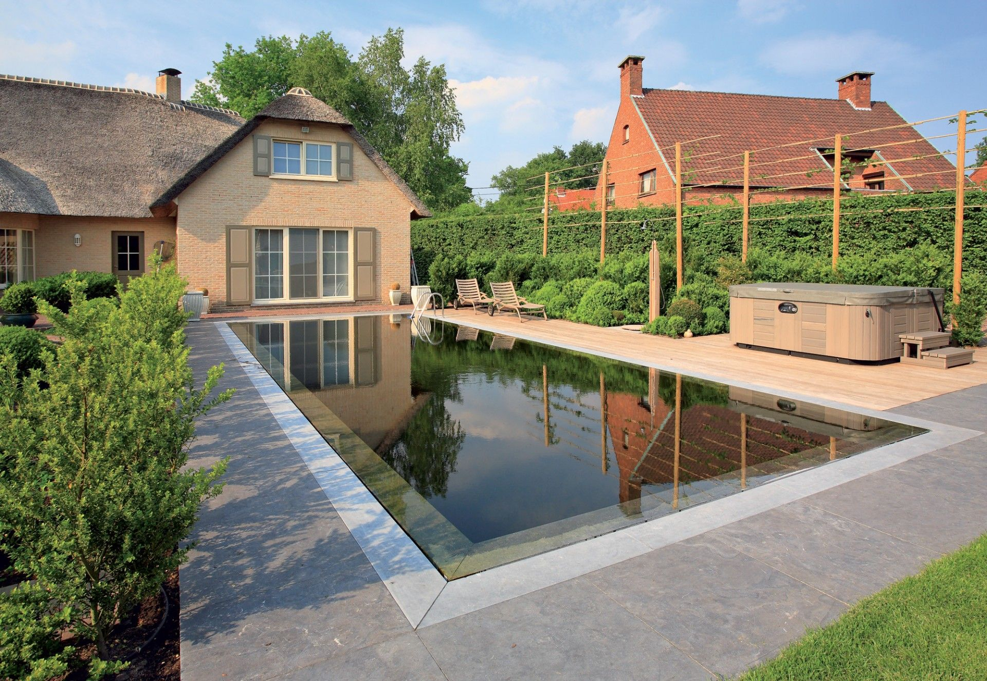 Firestone Building Products Natural Swimming Pools Epdm Pondgard concernant Piscine Epdm