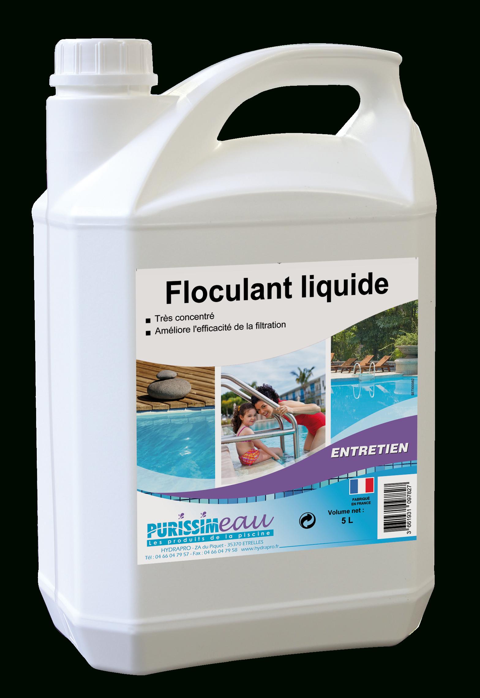 Floculant Liquide - Piscines Mcp : Piscines Mcp tout Eau Verte Piscine Bicarbonate De Soude