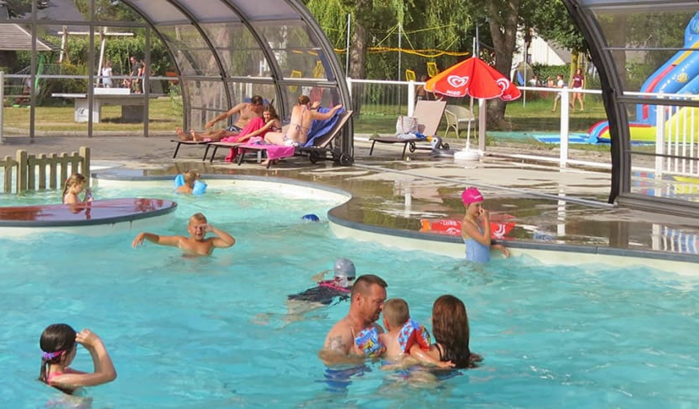 Flower Camping Le Haut Dick, Normandie, Camping Carentan destiné Piscine Carentan