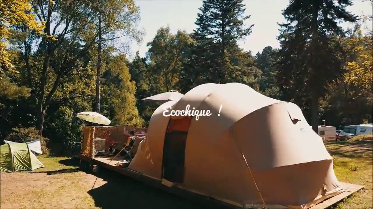 Flower Camping Les Murmures Du Lignon :camping En Haute ... serapportantà Camping Auvergne Piscine
