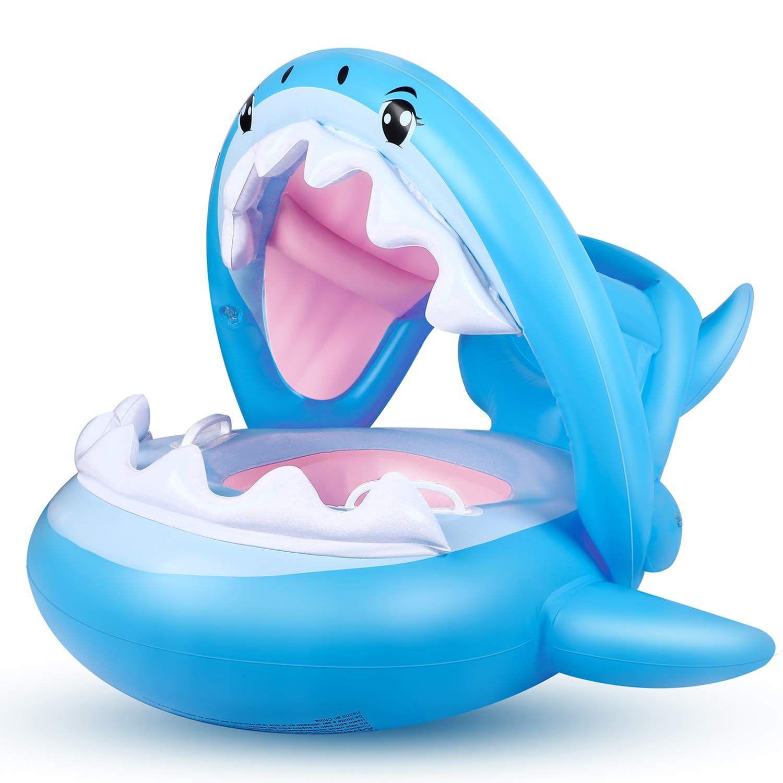 Flyboo Bébé Siège De Piscine Requin Bague De Natation ... tout Piscine Avec Siege