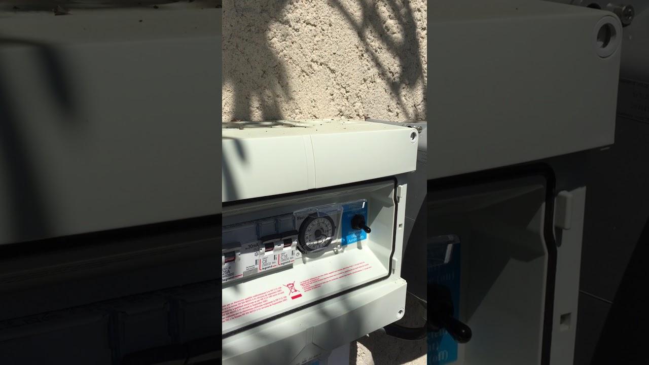 Fonctionnement Coffret Électrique Piscines Desjoyaux pour Coffret Electrique Piscine