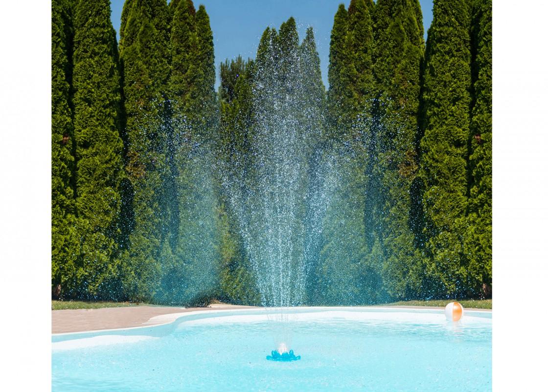 Fontaine Fleur - Piscines Waterair avec Pédiluve Piscine
