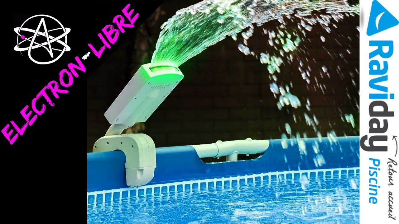 Fontaine Piscine Intex Led Multicolore à Fontaine De Piscine
