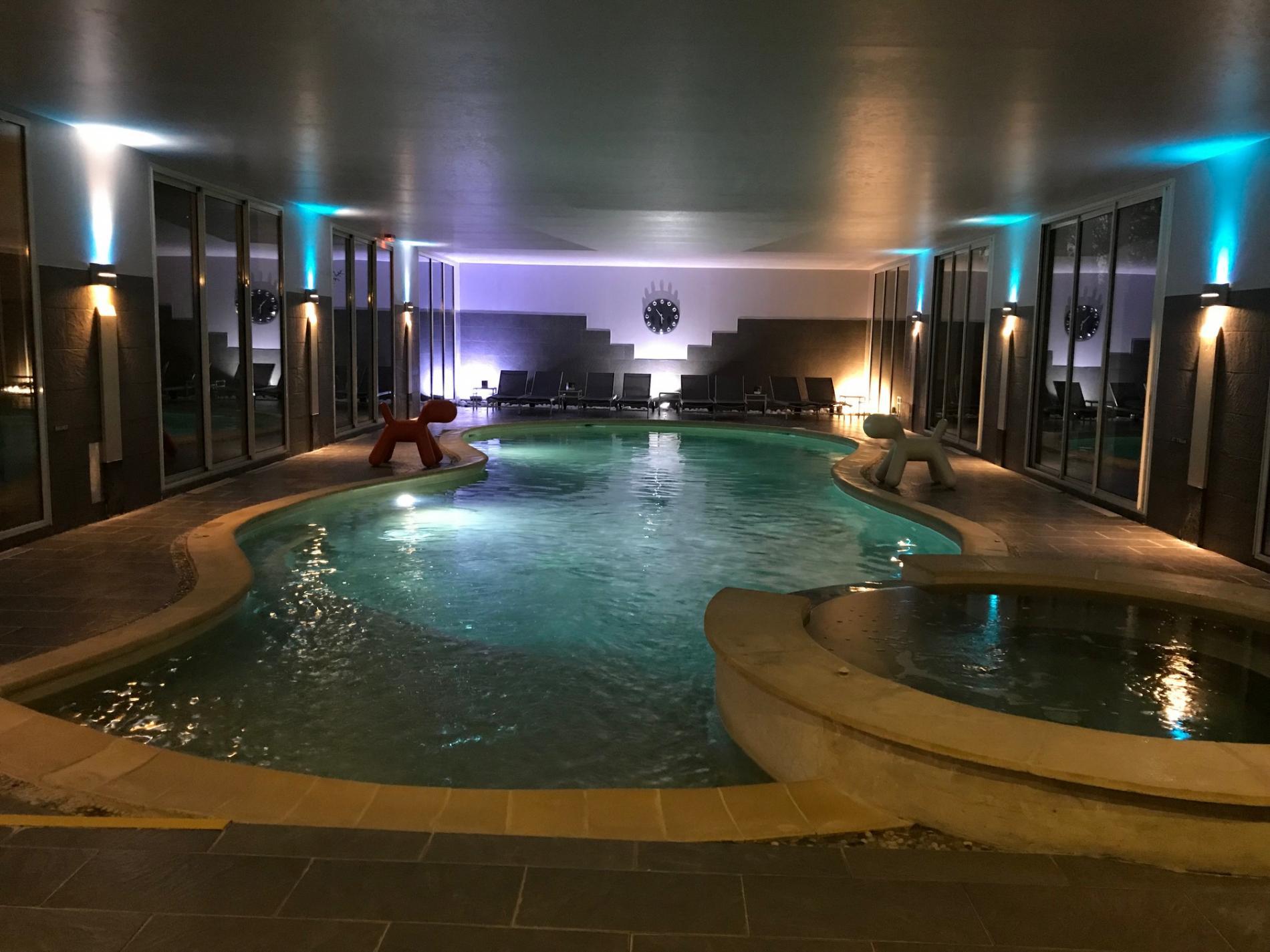 Forfait Saint Sylvestre 2018 > Hotel De Charme En Normandie ... intérieur Hotel Avec Piscine Normandie