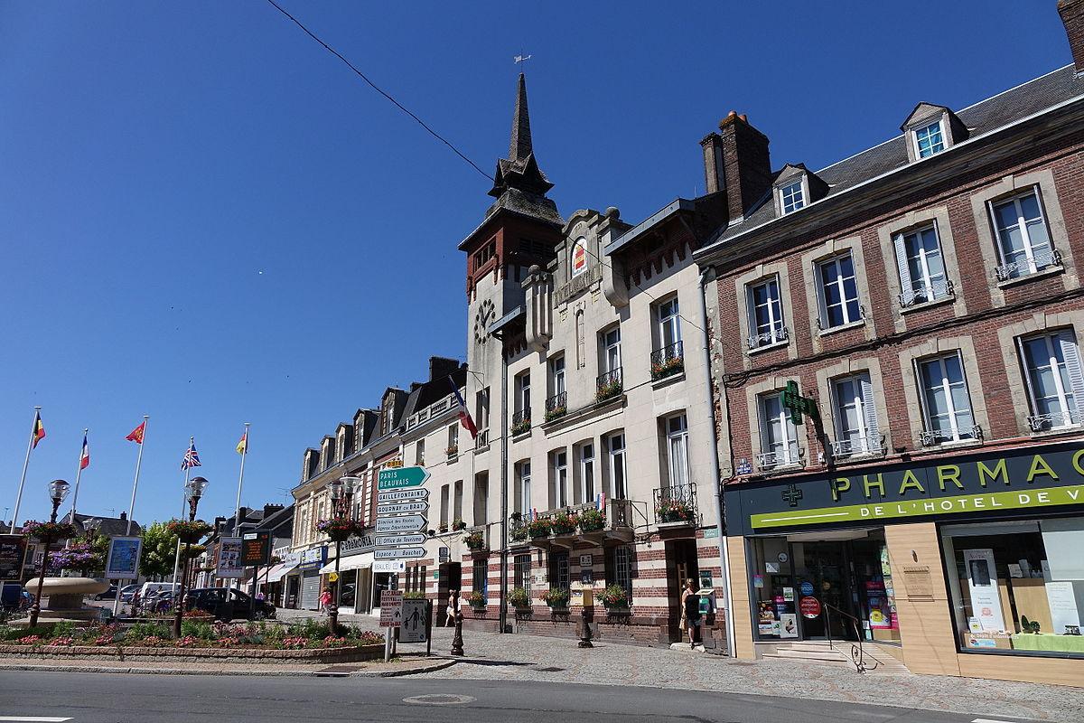 Forges-Les-Eaux (Commune Déléguée) — Wikipédia dedans Piscine Carentan