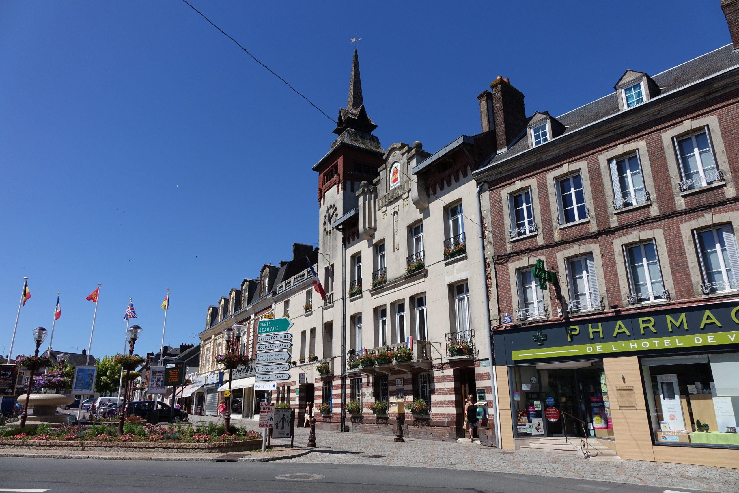 Forges-Les-Eaux (Commune Déléguée) — Wikipédia tout Piscine St Amand Les Eaux