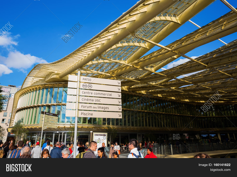 Forum Les Halles Paris Image & Photo (Free Trial) | Bigstock encequiconcerne Piscine Des Halles