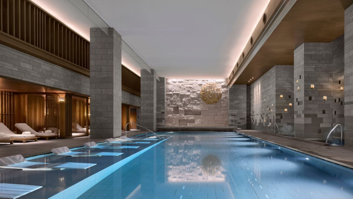 Four Seasons Kyoto By Hba Design | Indoor Swimming Pool ... tout Piscine Plus Le Cres