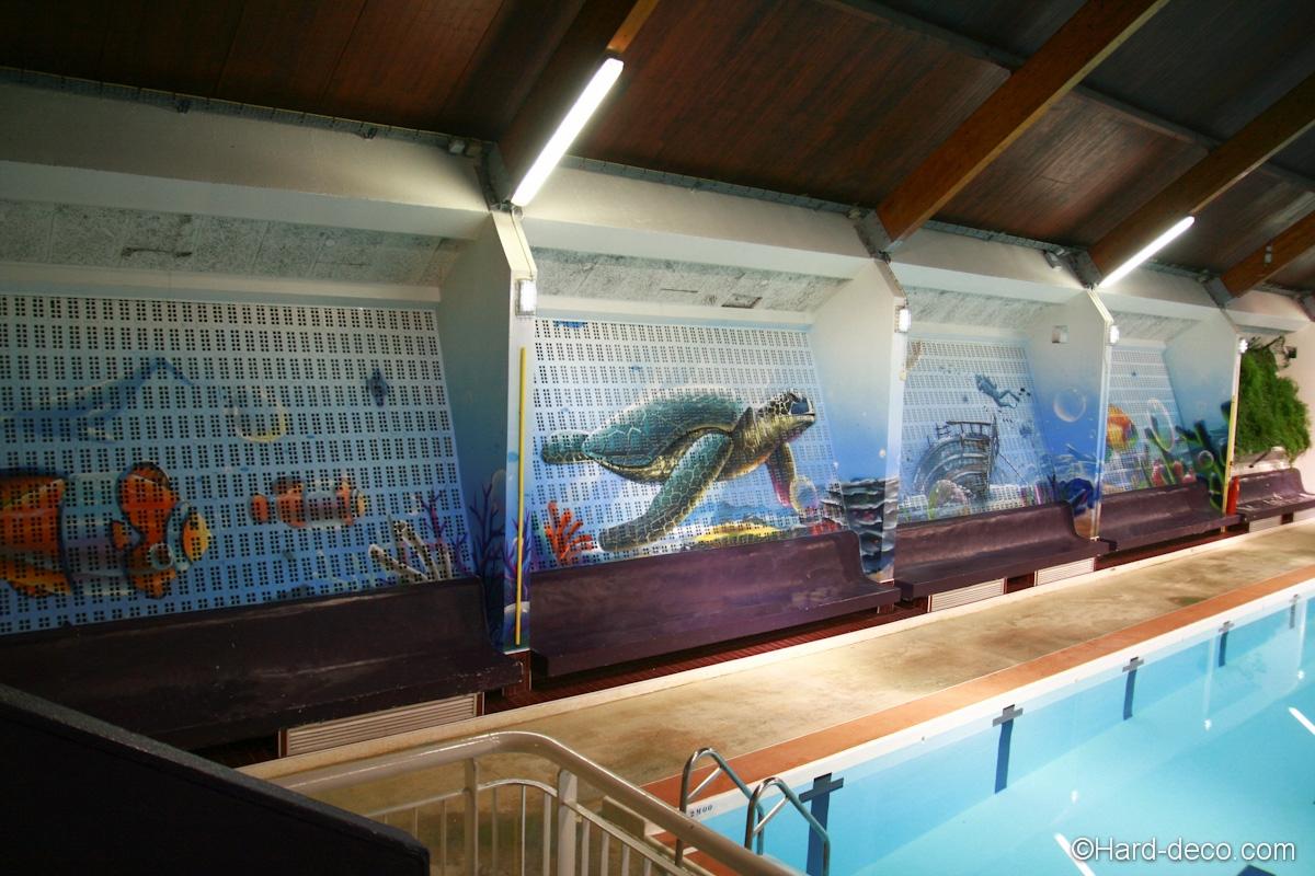 Fresque Piscine De Corbeil-Essonnes | Hard Deco serapportantà Piscine De Corbeil