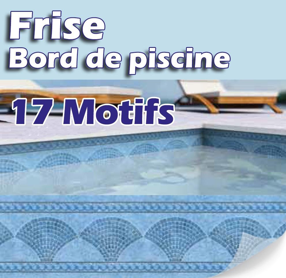 Frises Bandeaux Et Personnalisation - Made In Blue Piscines tout Frise Piscine