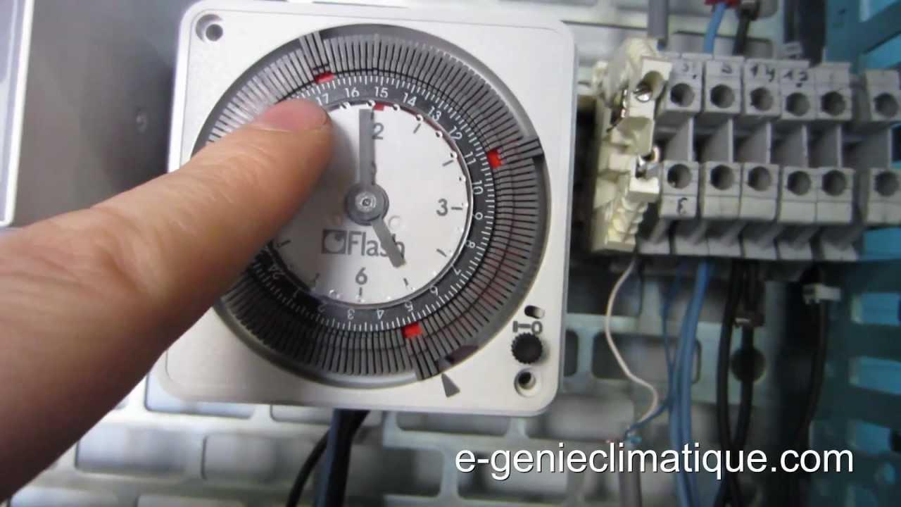 Froid28-L'horloge De Dégivrage - Flash 16022 avec Programmateur Piscine