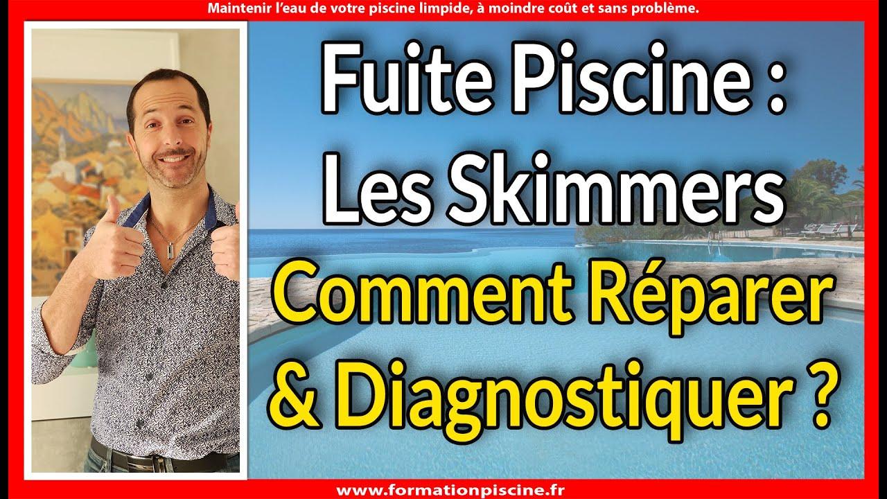 Fuite Piscine : Les Skimmers Comment Diagnostiquer Et Comment Réparer ? concernant Colmateur De Fuite Piscine
