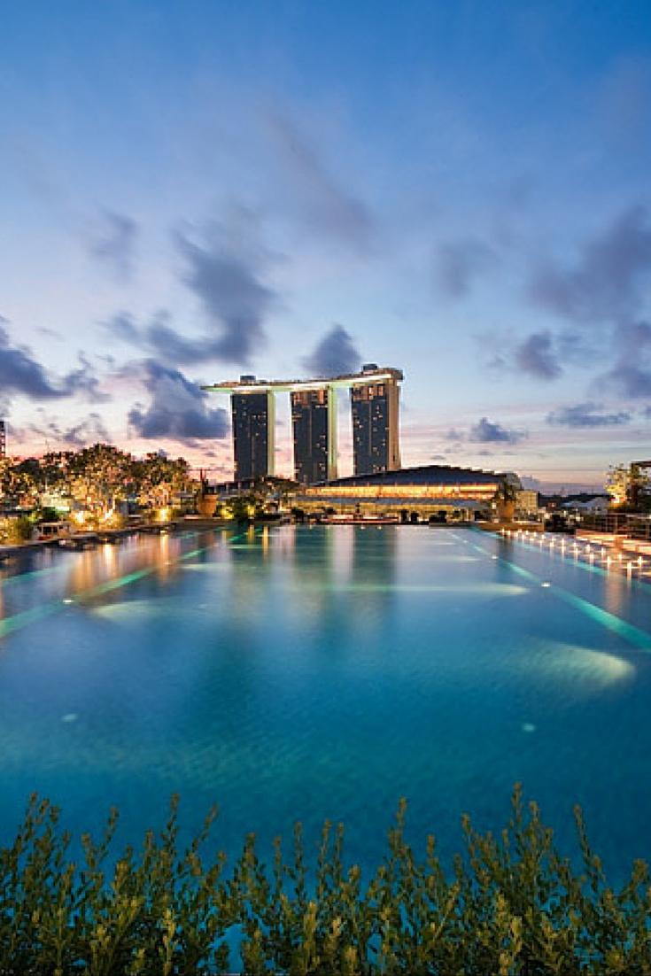 Fullerton Bay Hotel, Singapour | Singapour, Hotel Singapour ... avec Piscine Singapour