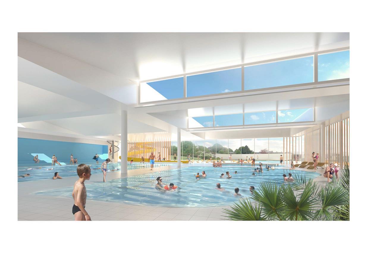 Futur Centre Aquatique À Neufchâtel-En-Bray : Que Pensez ... serapportantà Piscine Croixrault
