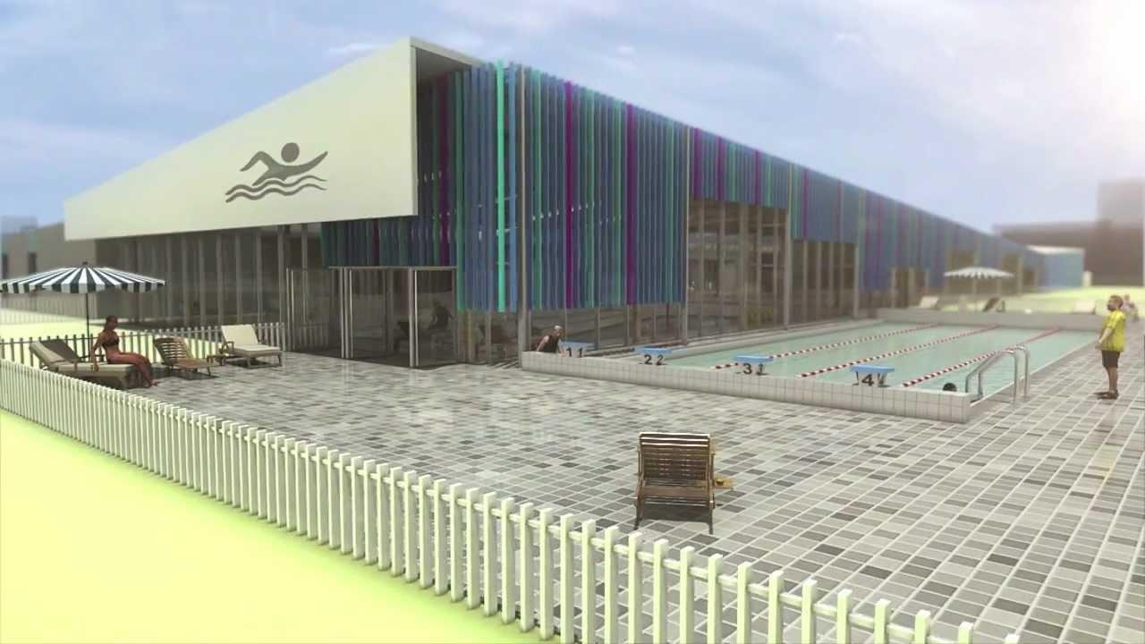 Futur Centre Aquatique De Joué Lès Tours dedans Piscine Bulle D O Joué Les Tours