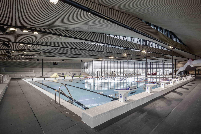 Gallery Of Aquatic Centre Sourcéane / Auer Weber + Caau - 7 ... à Piscine Sin Le Noble