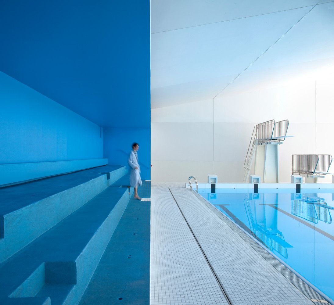 Gallery Of Swimming Pool Extension In Bagneux / Dominique ... concernant Piscine De Bagneux