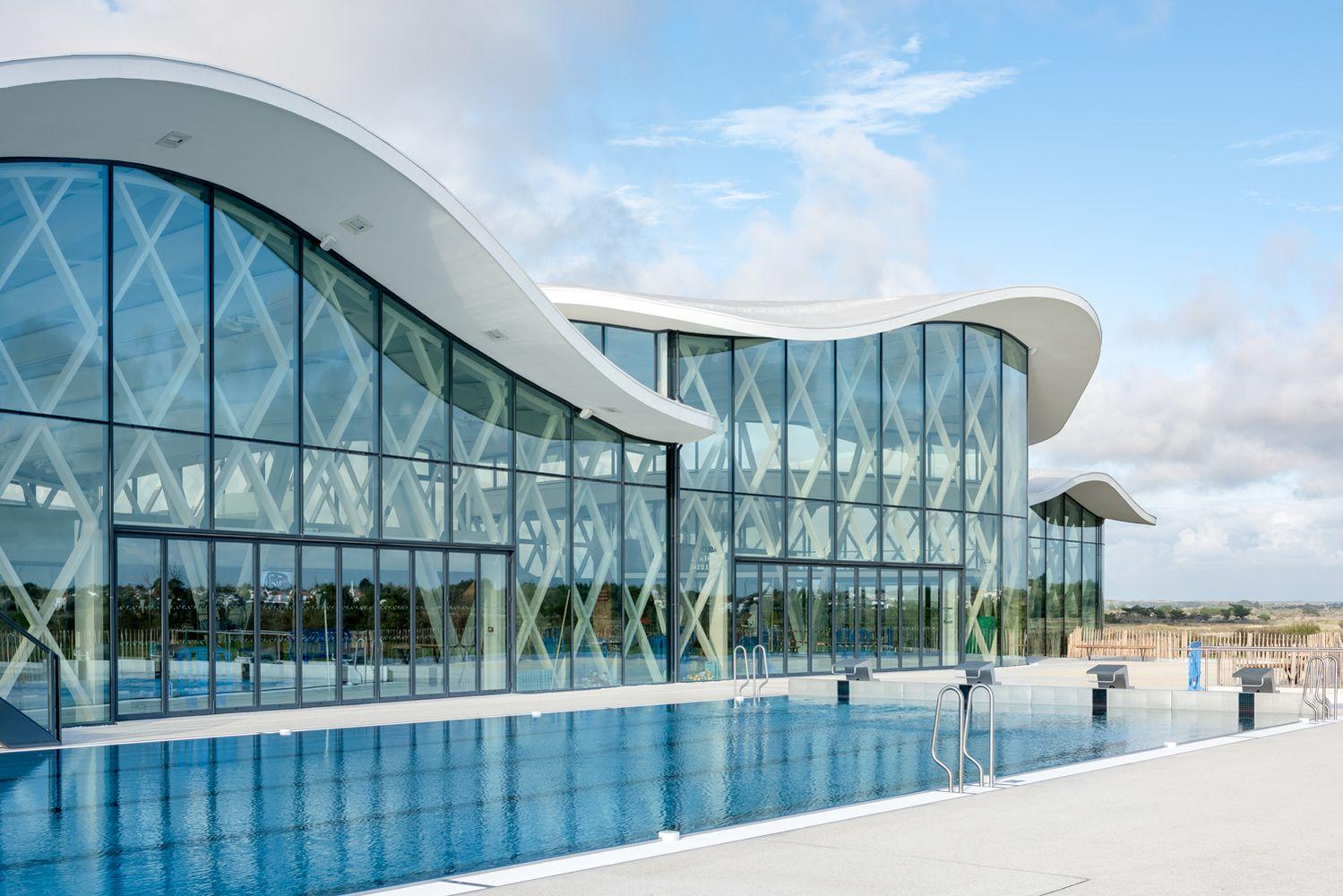 Gallery Of Swimming Pool In Saint Gilles Croix De Vie ... destiné Piscine St Gilles Croix De Vie