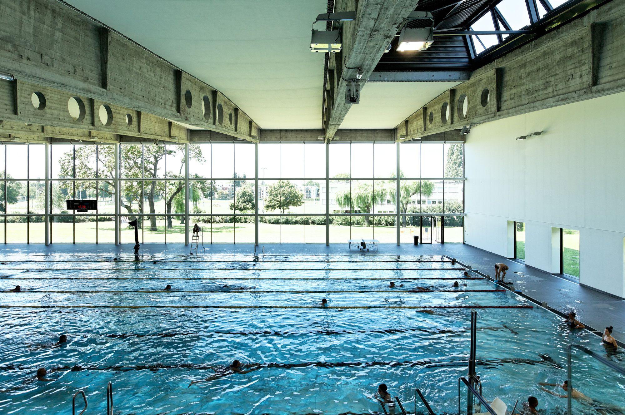 Gallery Of Swimming Pool Kibitzenau / Dietmar Feichtinger ... serapportantà Piscine Kibitzenau