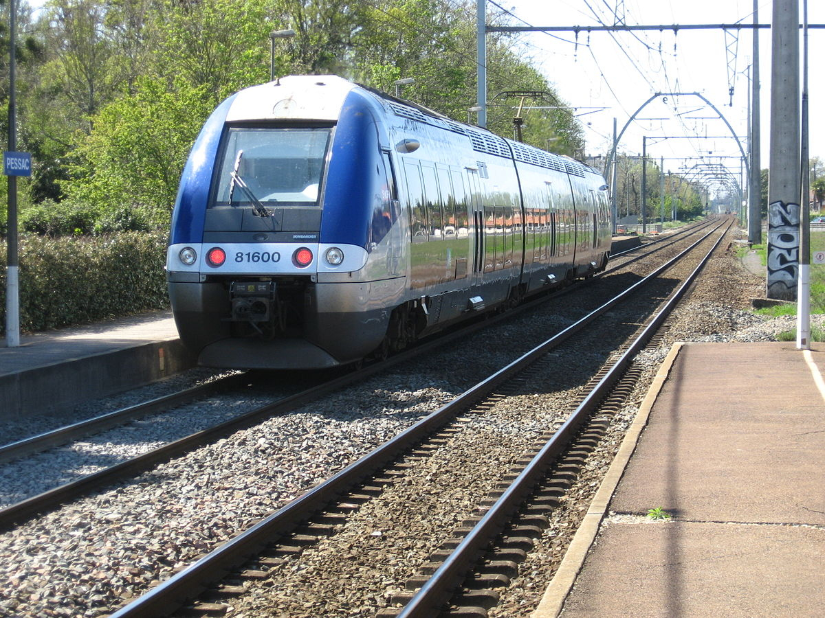 Gare De Pessac - Wikipedia à Piscine Bombardiere