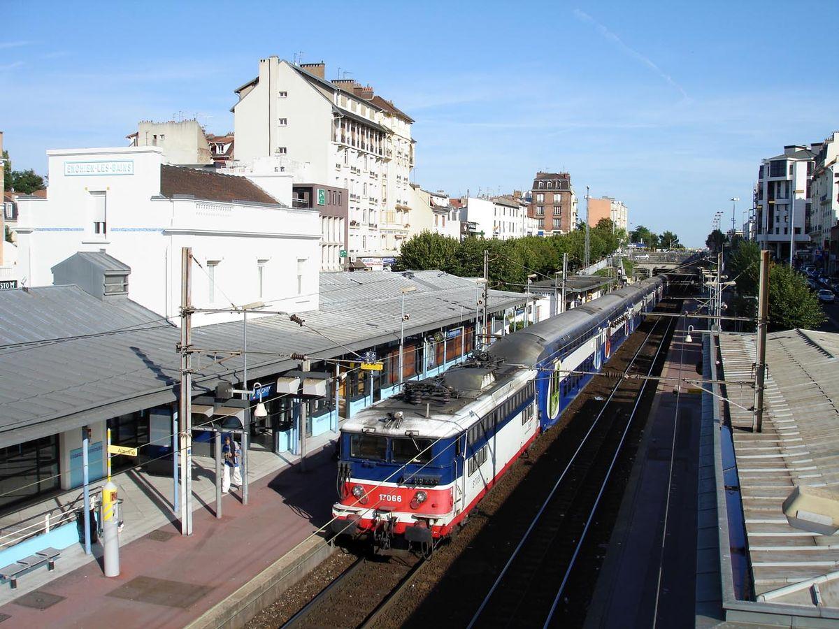 Gare D'enghien-Les-Bains — Wikipédia intérieur Piscine Enghien Les Bains