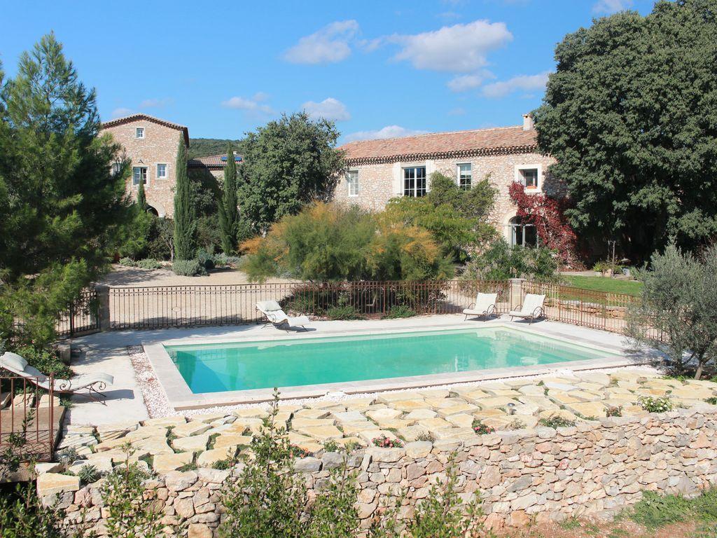 Gite De Charme Avec Piscine Dans Un Mas Languedocien - Argelliers intérieur Piscine De Cournon