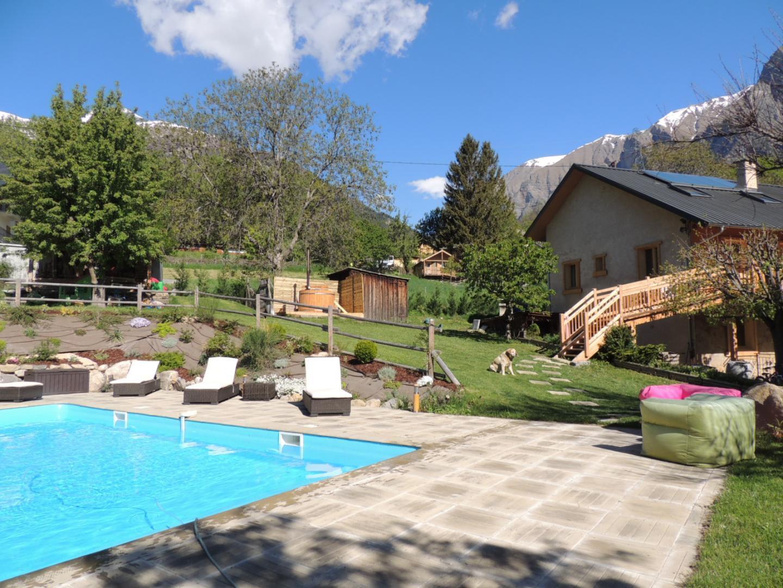 Gîte N°6202 À Chateauroux-Les-Alpes - Gîtes De France Hautes ... concernant Piscine Chateauroux