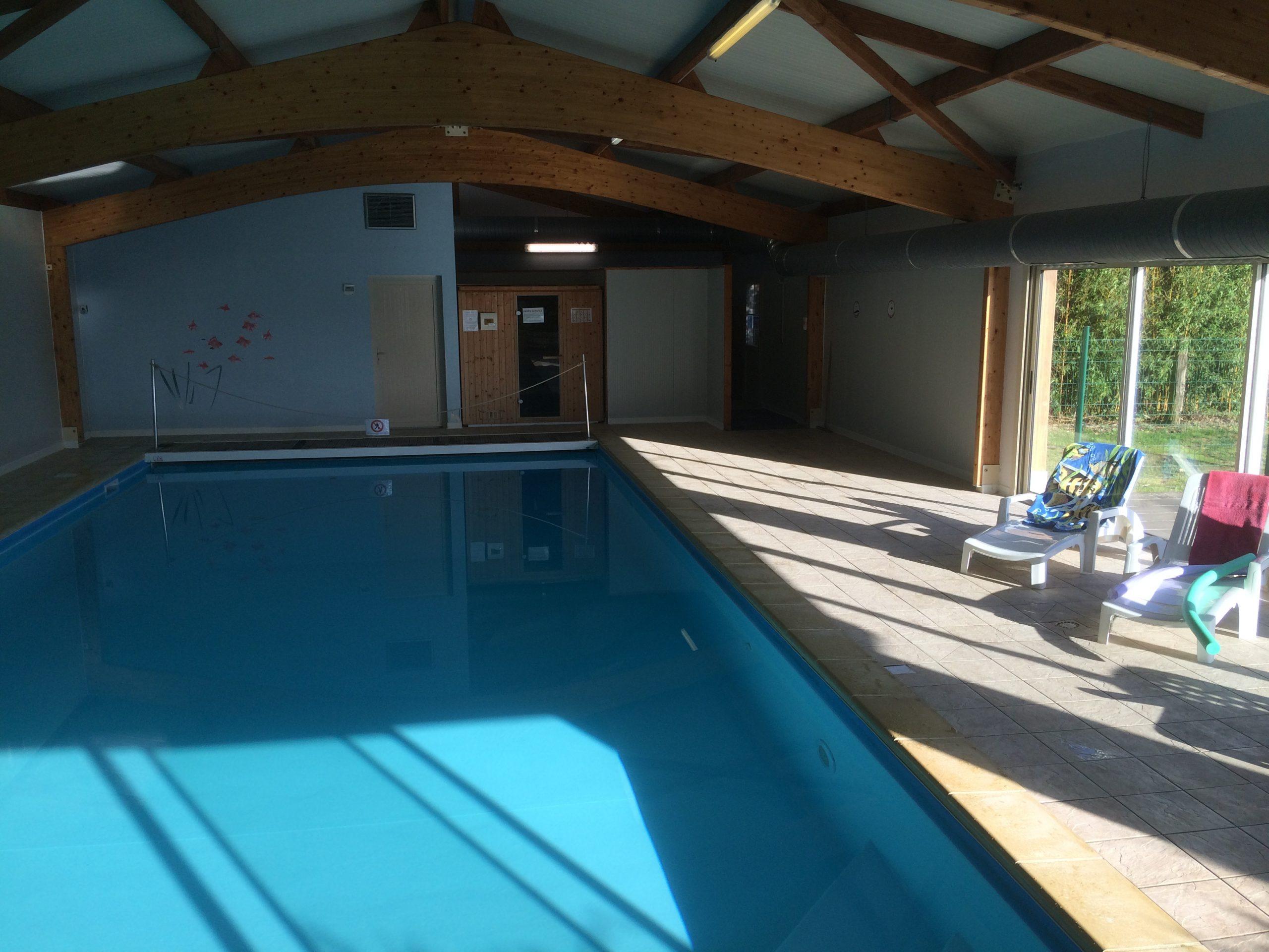 Gites Du Parc D'albosc - Gites En Normandie Grande Capacité ... à Location Avec Piscine Couverte
