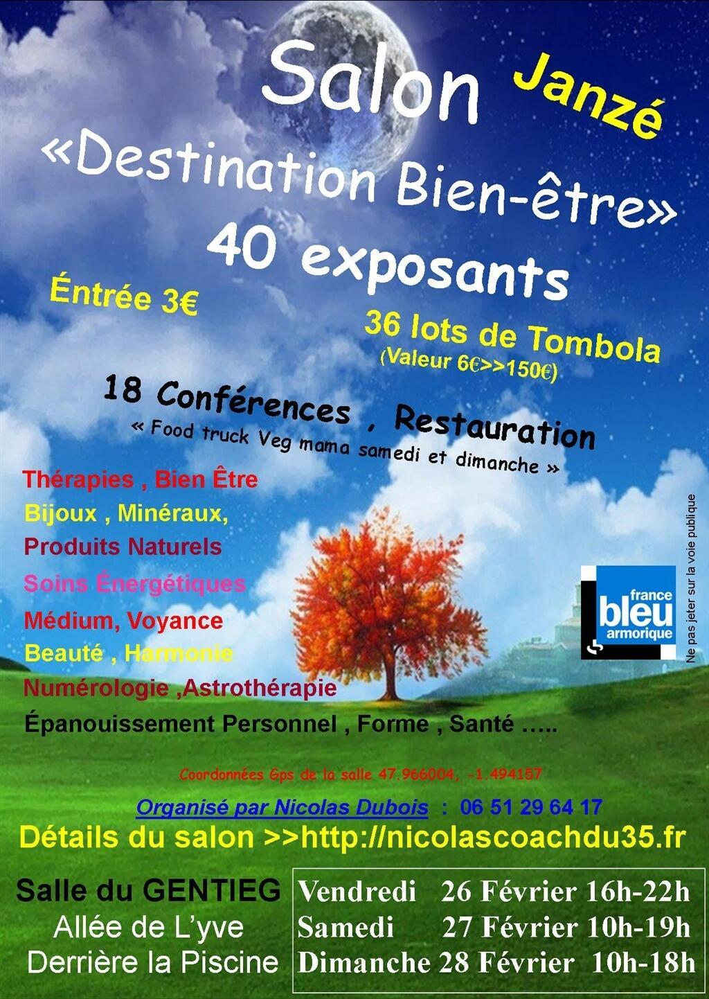 Grand Salon Bien-Être Internaute - Rennes.maville pour Piscine Janze