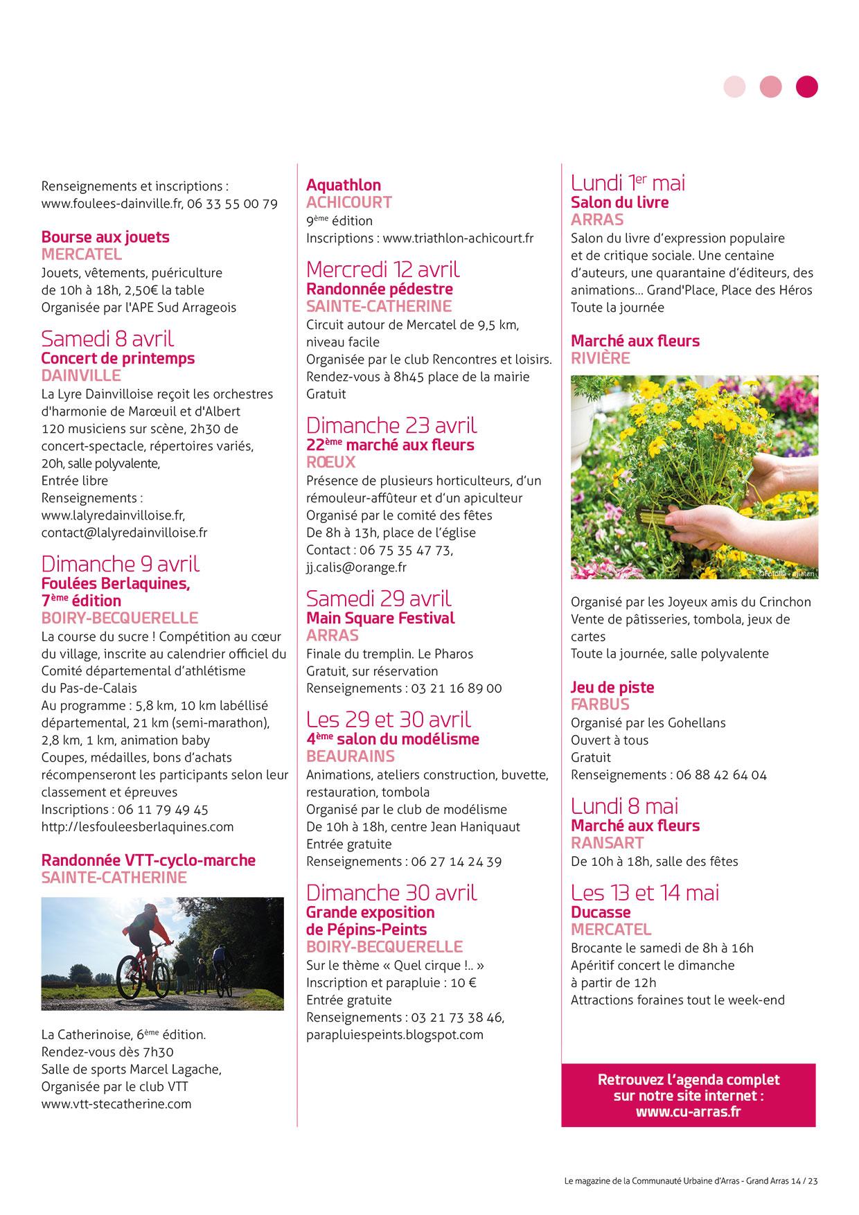 Grand_Arras_14_Page23 - Communauté Urbaine D'arras intérieur Piscine Arras Aquarena