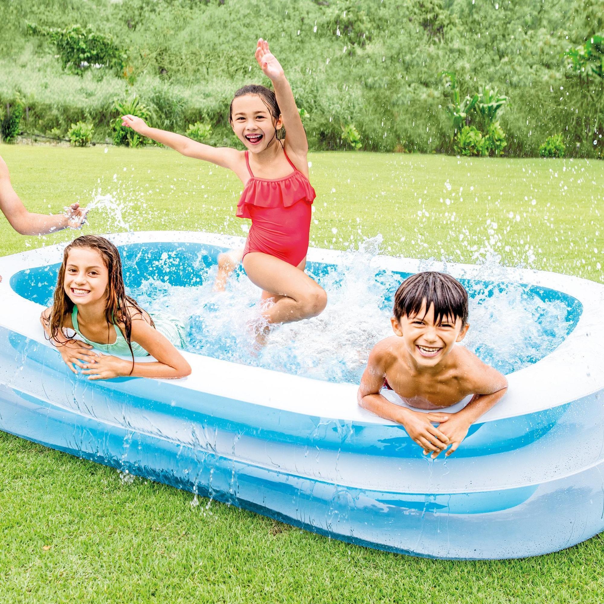 Grande Piscine Gongflable Intex Pour Enfants Et Adultes à Piscine Enfant Intex
