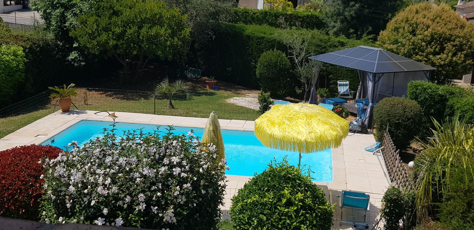 Grande Villa Standing Piscine Calme A Proximité De Sophia Antipolis pour Piscine A Proximité