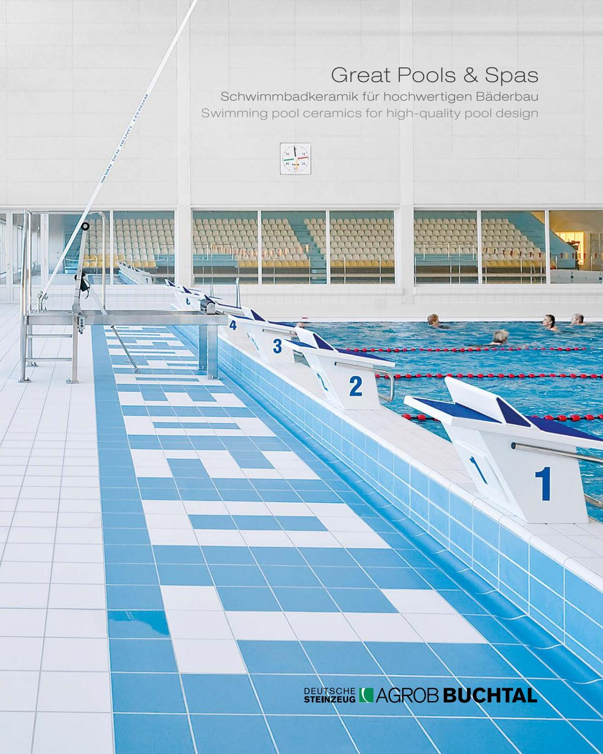 Great Pools And Spas Agrob Buchtal By Ceramicsolutions - Issuu tout Piscine Grazailles