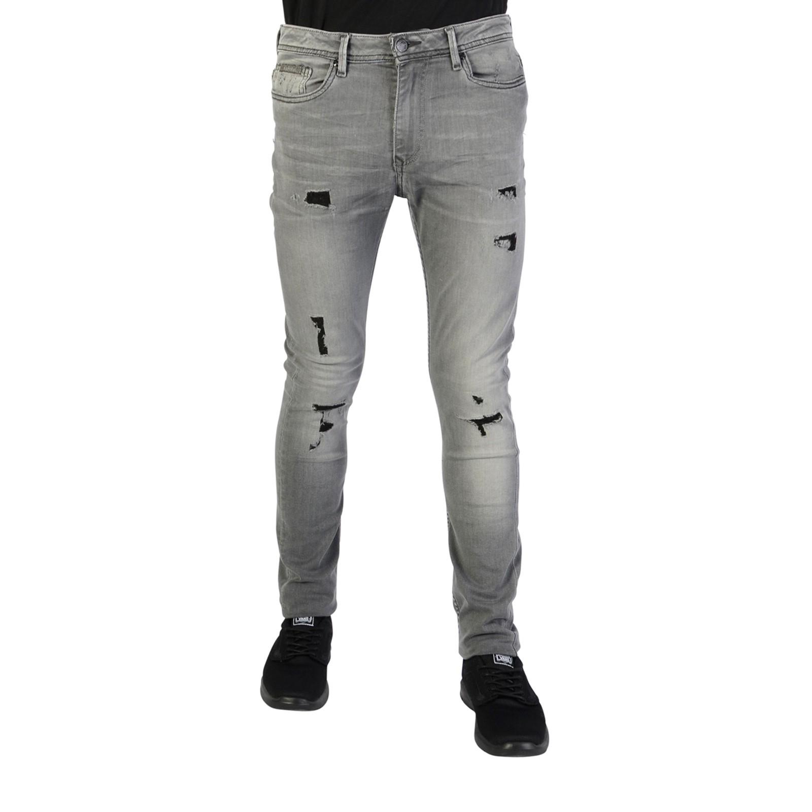 Gris Jeans Garçon Kaporal Jego - 14 Ans Inox Garçon Jeans à Piscine Beaublanc