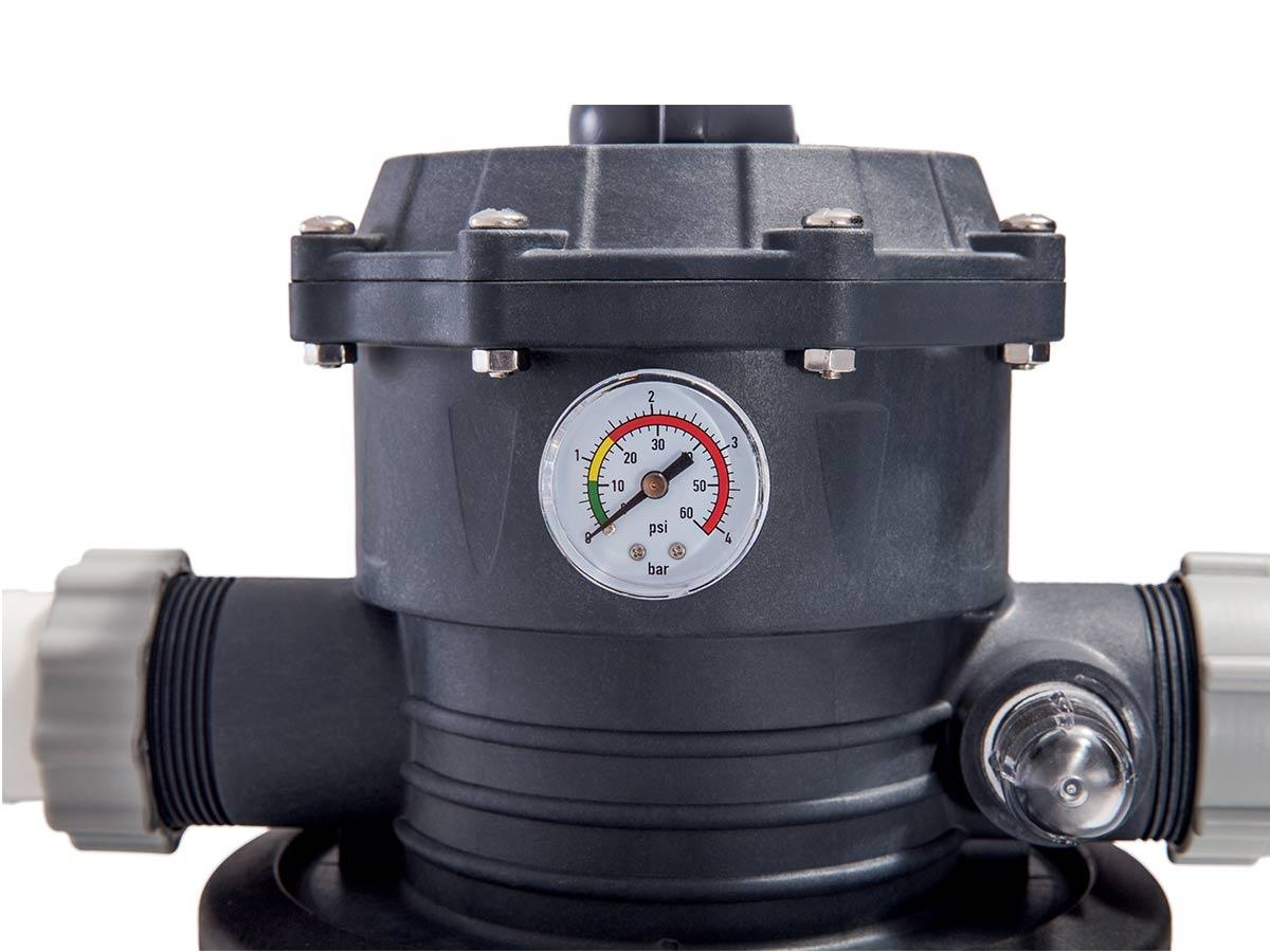 Groupe De Filtration À Sable 6 M³/h - Intex - encequiconcerne Filtre A Sable Piscine Mode D Emploi